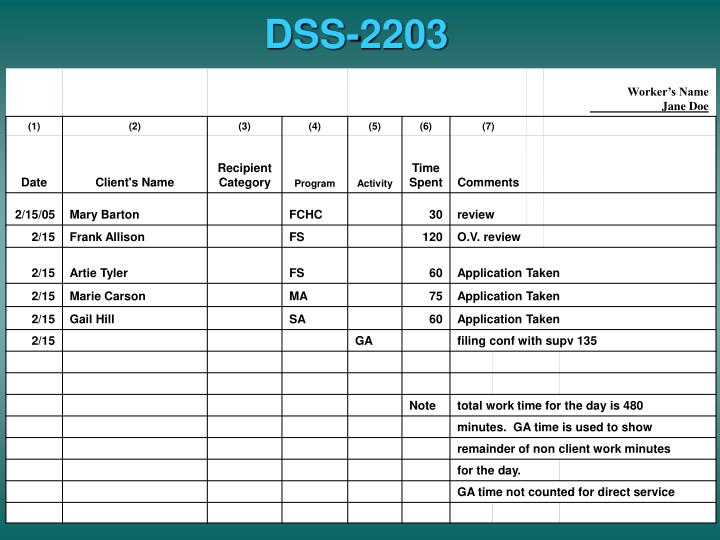 DSS-2203