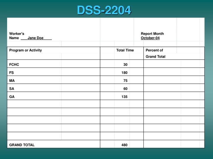 DSS-2204