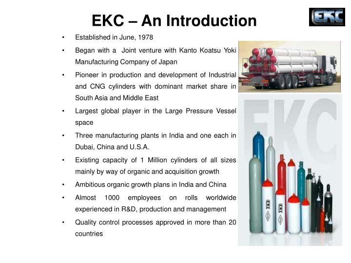 EKC – An Introduction