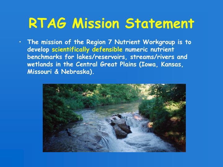 RTAG Mission Statement