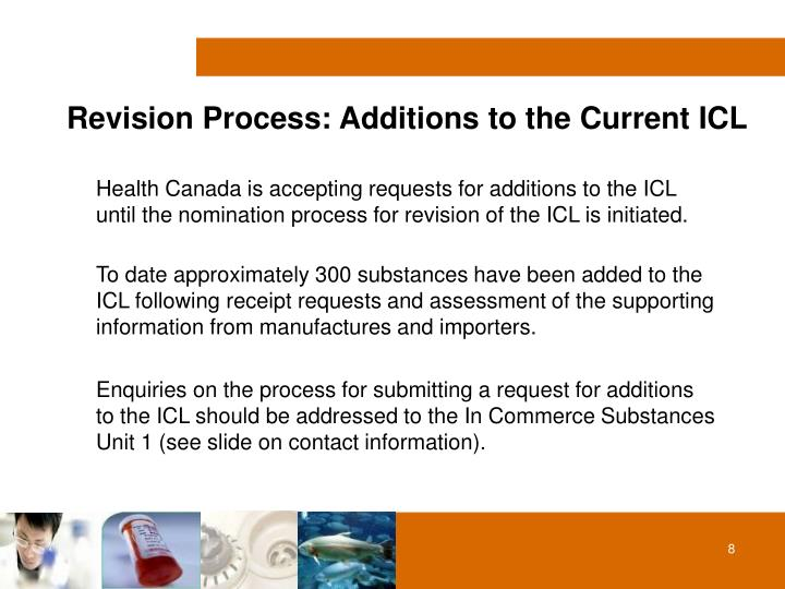 Revision Process: Additions to the Current ICL