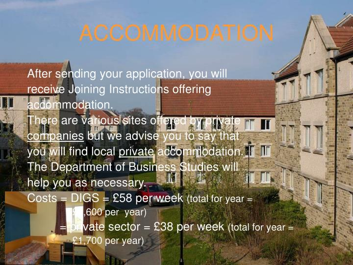 ACCOMMODATION