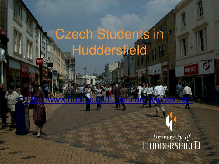 Czech students in huddersfield
