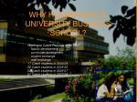 why huddersfield university business school