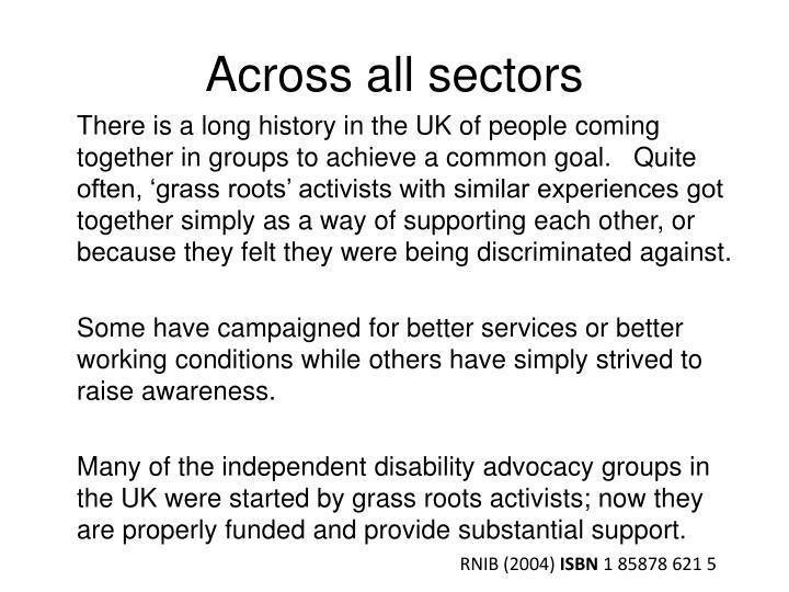 Across all sectors