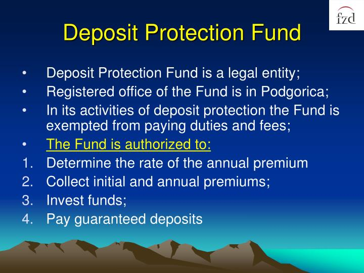 Deposit Protection Fund
