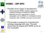 wsmo dip wp21