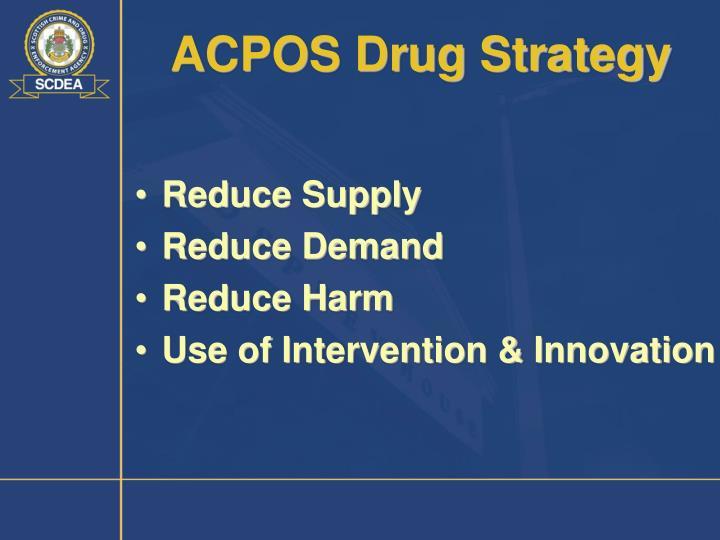 ACPOS Drug Strategy