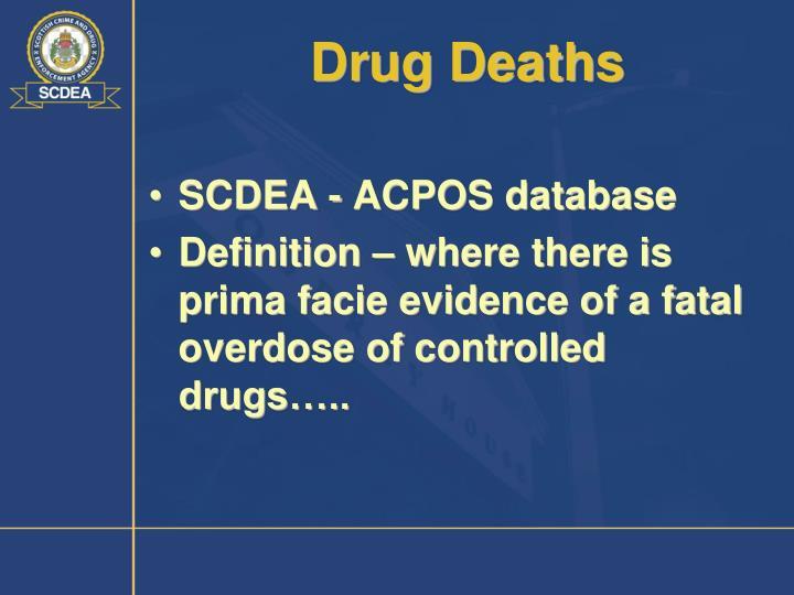 Drug Deaths