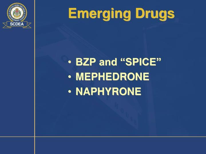 Emerging Drugs