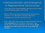 4 democratization and emergence of representative democracies