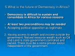 5 what is the future of democracy in africa