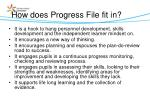 how does progress file fit in