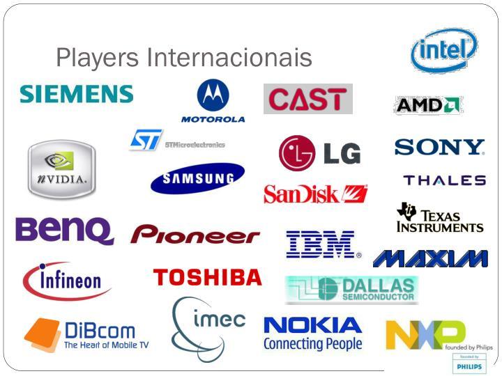 Players Internacionais