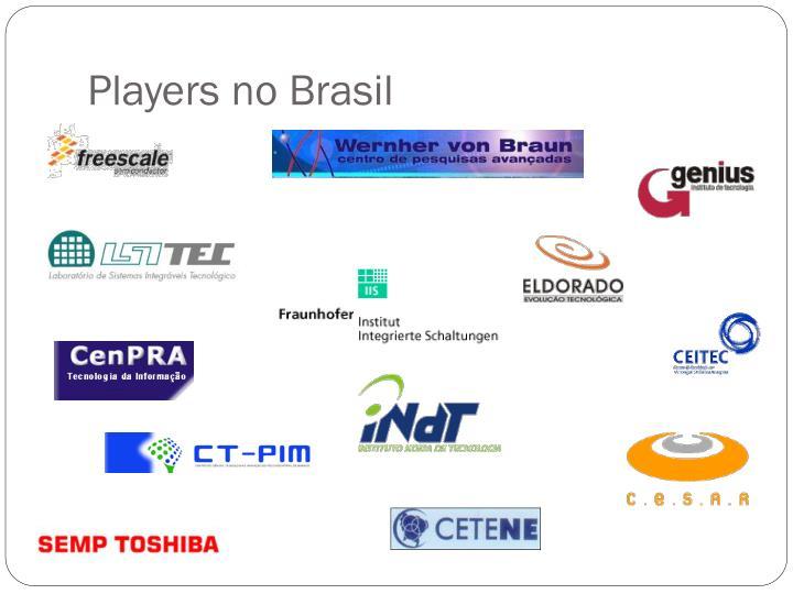Players no Brasil