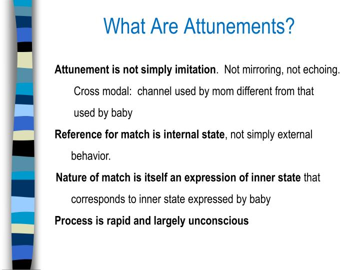 What Are Attunements?