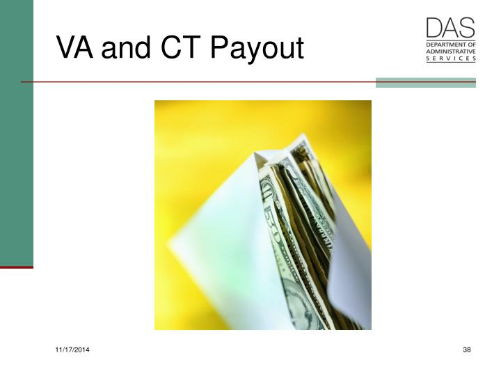 VA and CT Payout