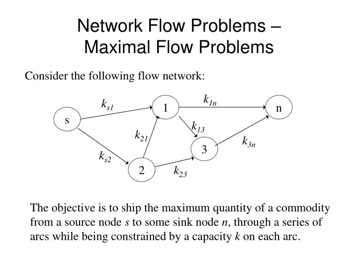 Network Flow Problems –