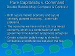 pure capitalistic v command double bubble map compare contrast