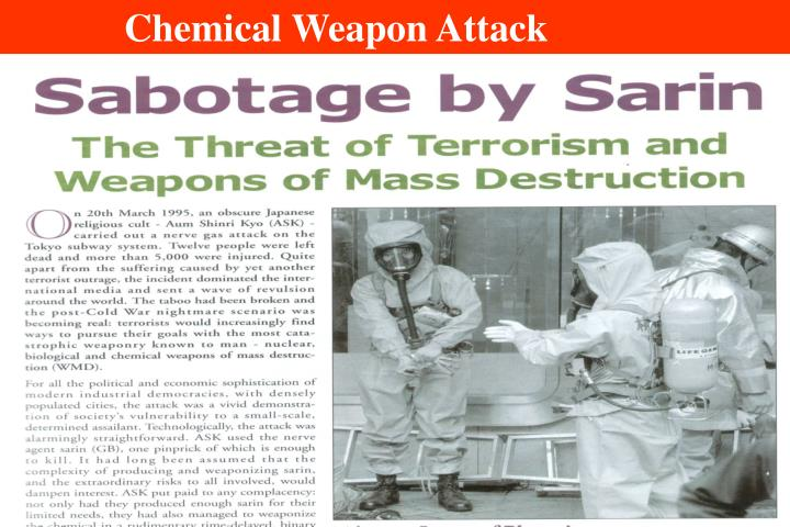 Chemical Weapon Attack
