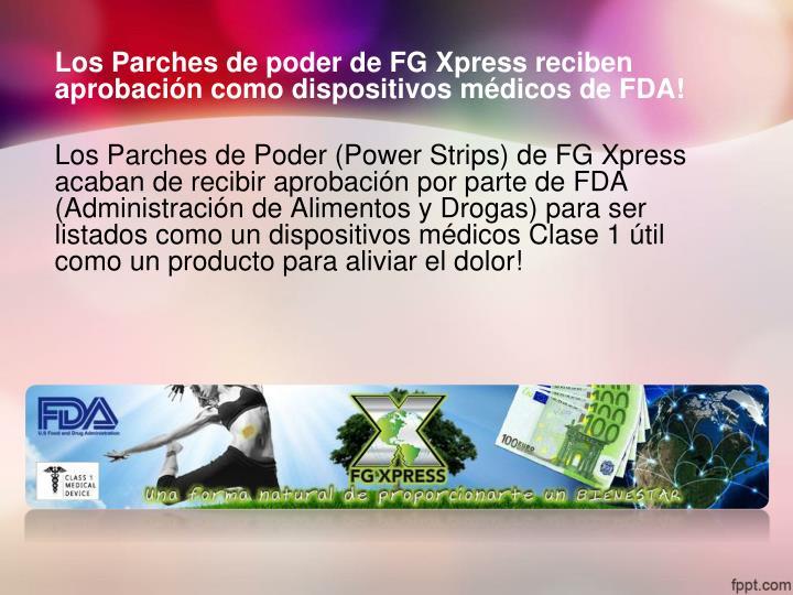 Los Parches de poder de FG
