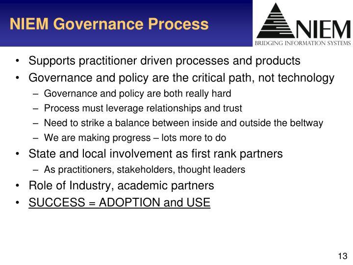 NIEM Governance Process