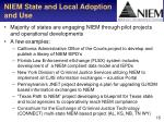 niem state and local adoption and use
