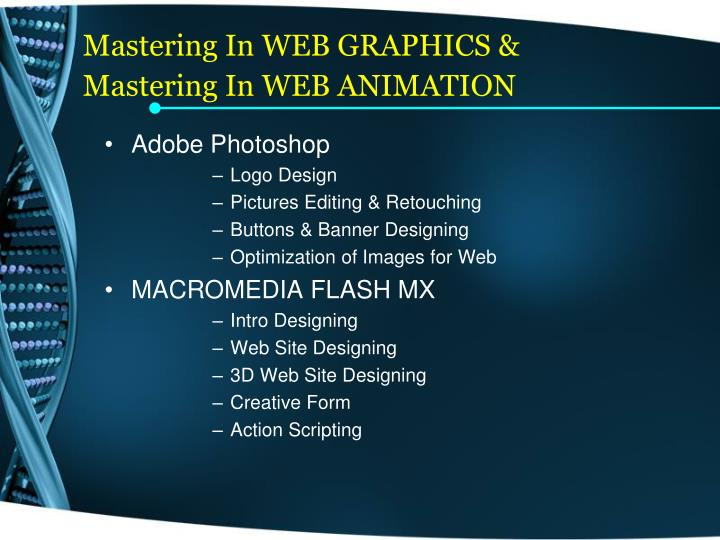 Mastering In WEB GRAPHICS &