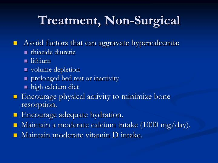 Treatment, Non-Surgical