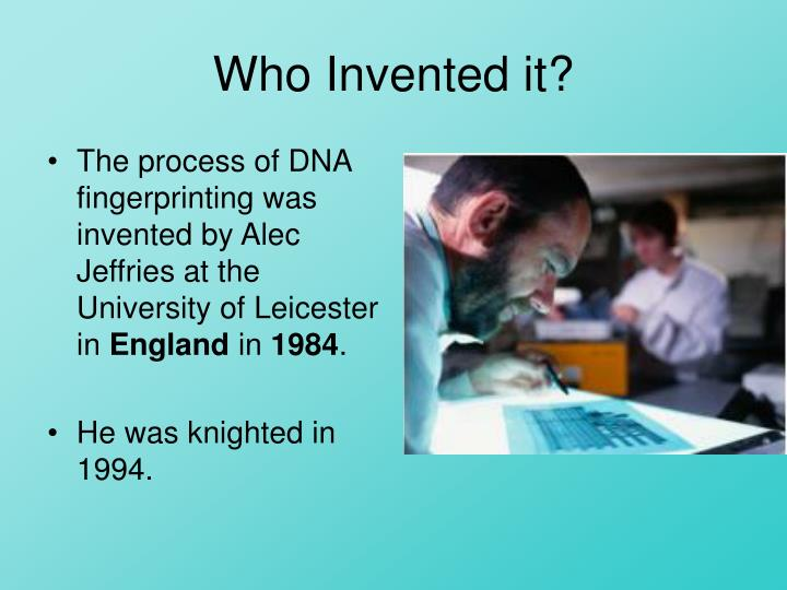 Who Invented it?
