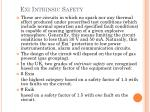 exi intrinsic safety