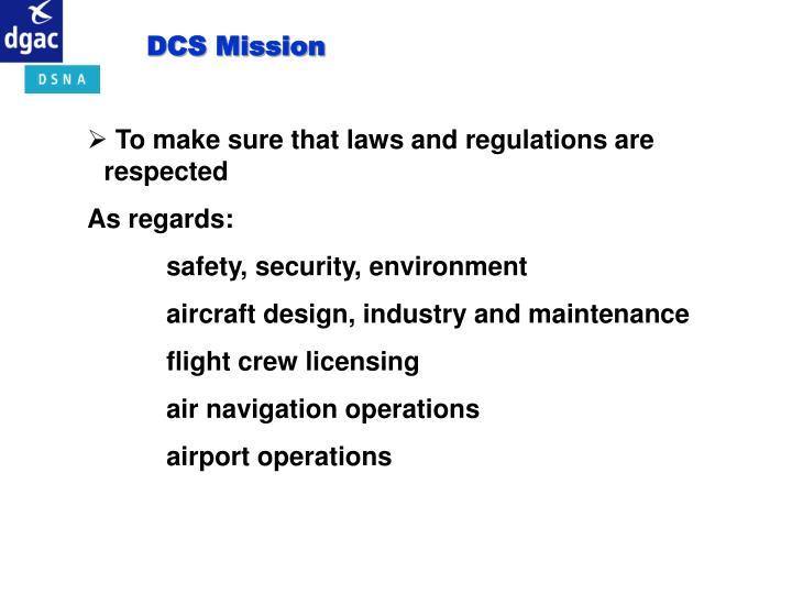 DCS Mission