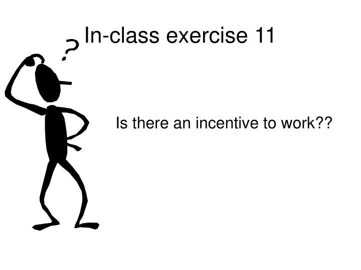 In-class exercise 11