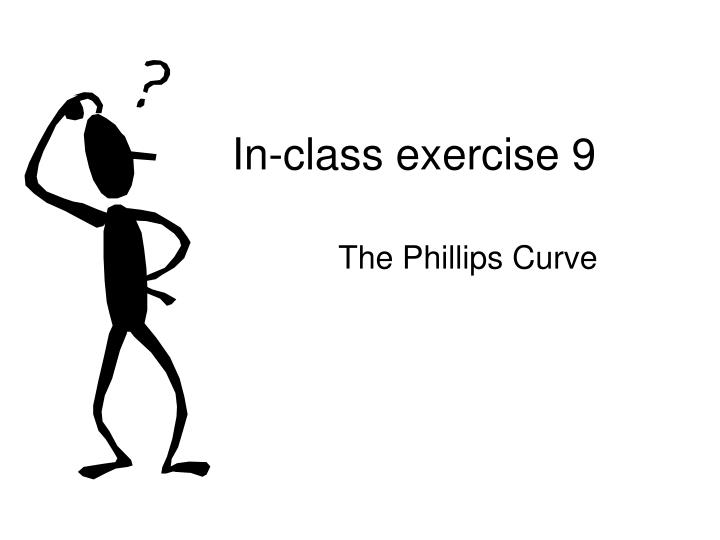 In-class exercise 9
