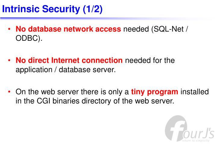 Intrinsic Security (1/2)