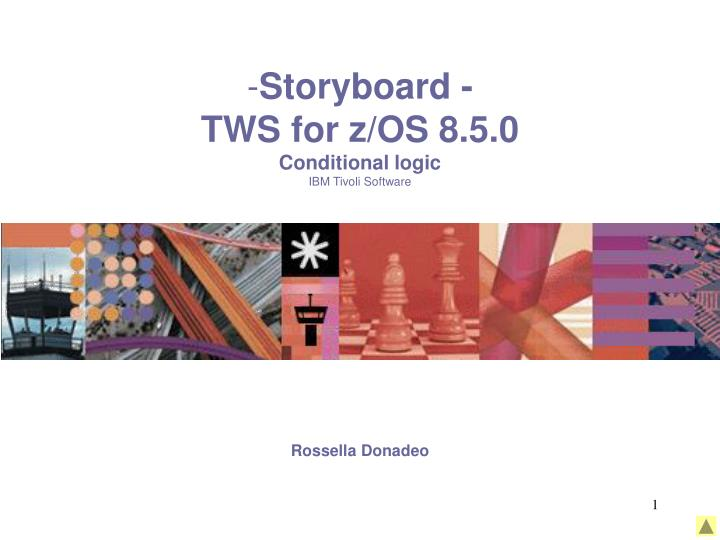 Storyboard tws for z os 8 5 0 conditional logic ibm tivoli software