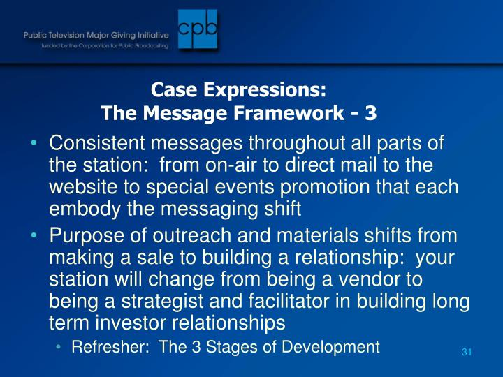 Case Expressions: