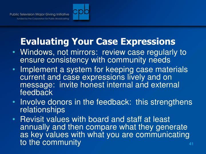 Evaluating Your Case Expressions