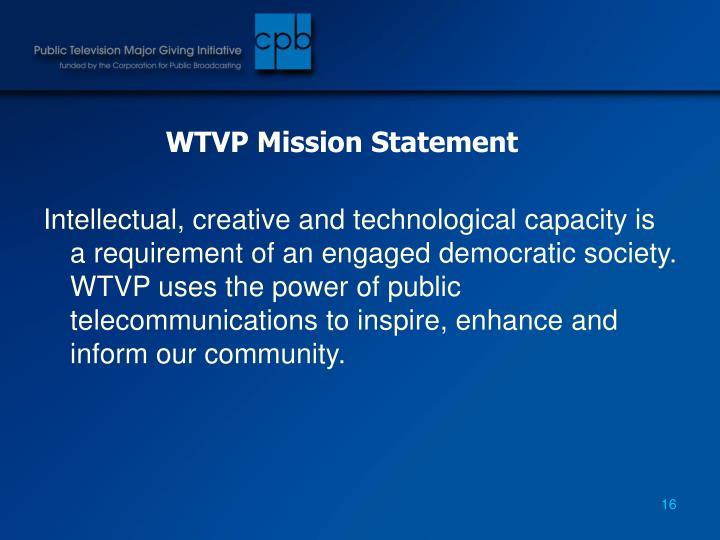WTVP Mission Statement