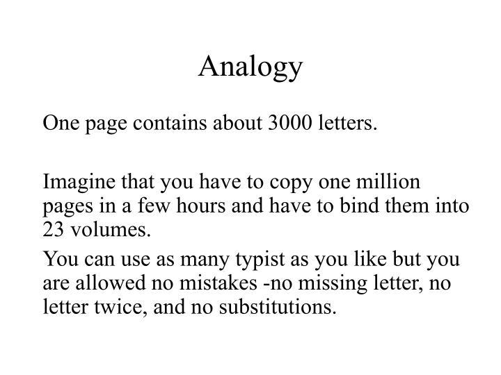 Analogy
