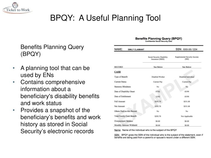 BPQY:  A Useful Planning Tool