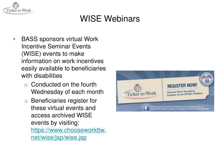 WISE Webinars