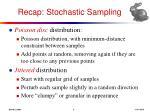recap stochastic sampling2