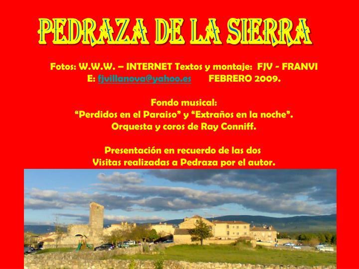 Pedraza de la Sierra