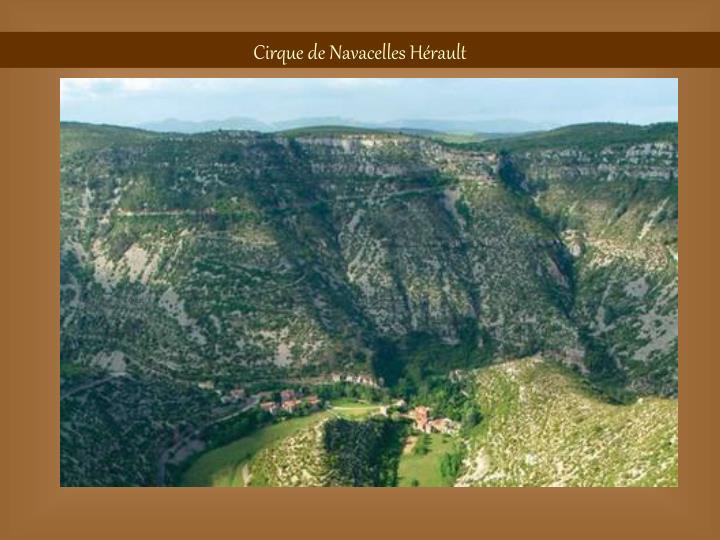 Cirque de Navacelles Hérault