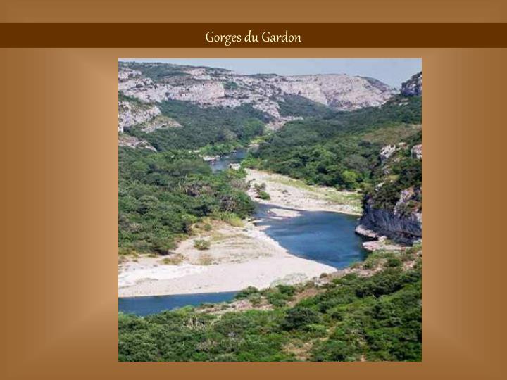 Gorges du Gardon