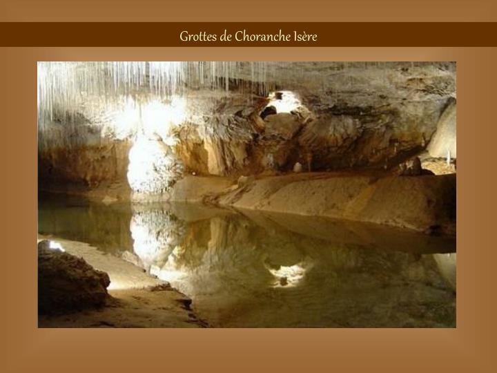 Grottes de Choranche Isère