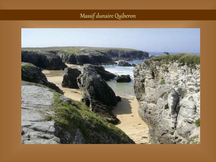 Massif dunaire Quiberon