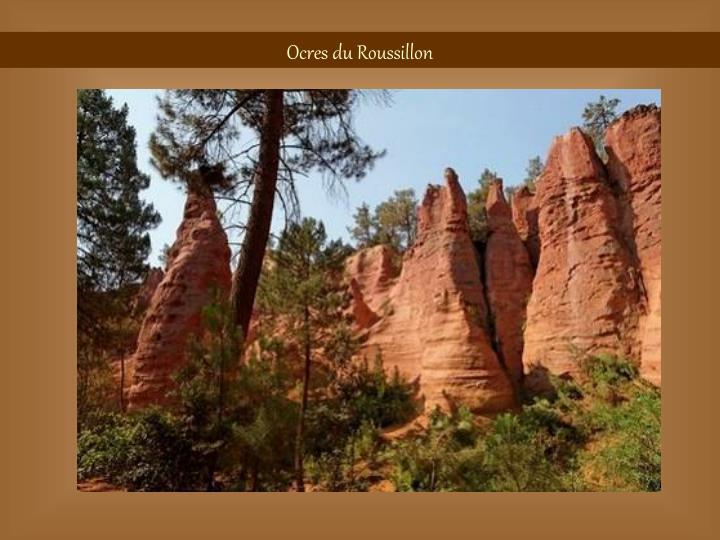 Ocres du Roussillon