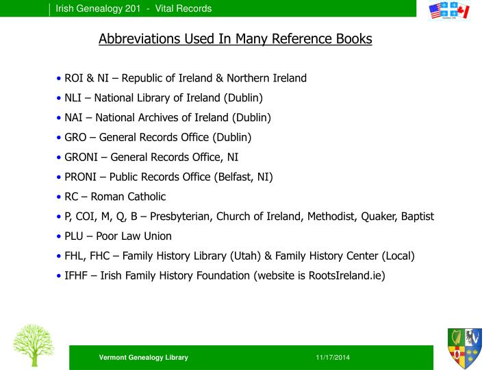 Abbreviations Used In Many Reference Books
